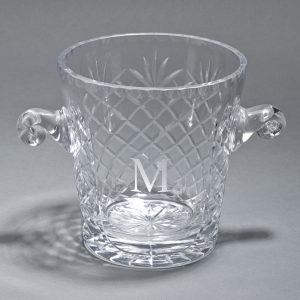 Optic Crystal Medallion Bucket