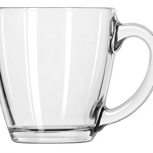 15.5 oz. Libbey Tapered Glass Coffee Mugs