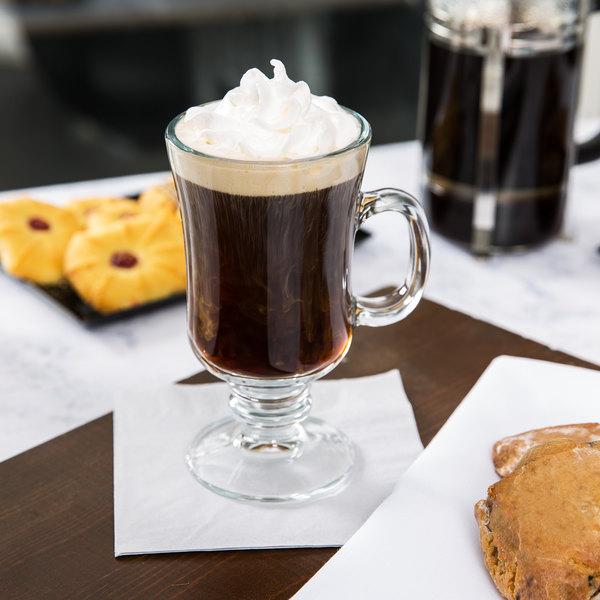 8.5 oz. Irish Glass Coffee Mug