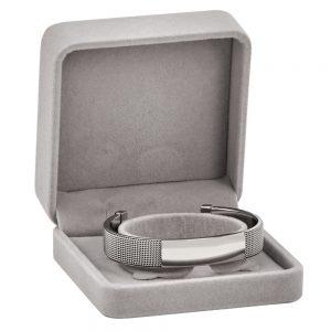 SS 1/2 Meshike cuff Bracelet