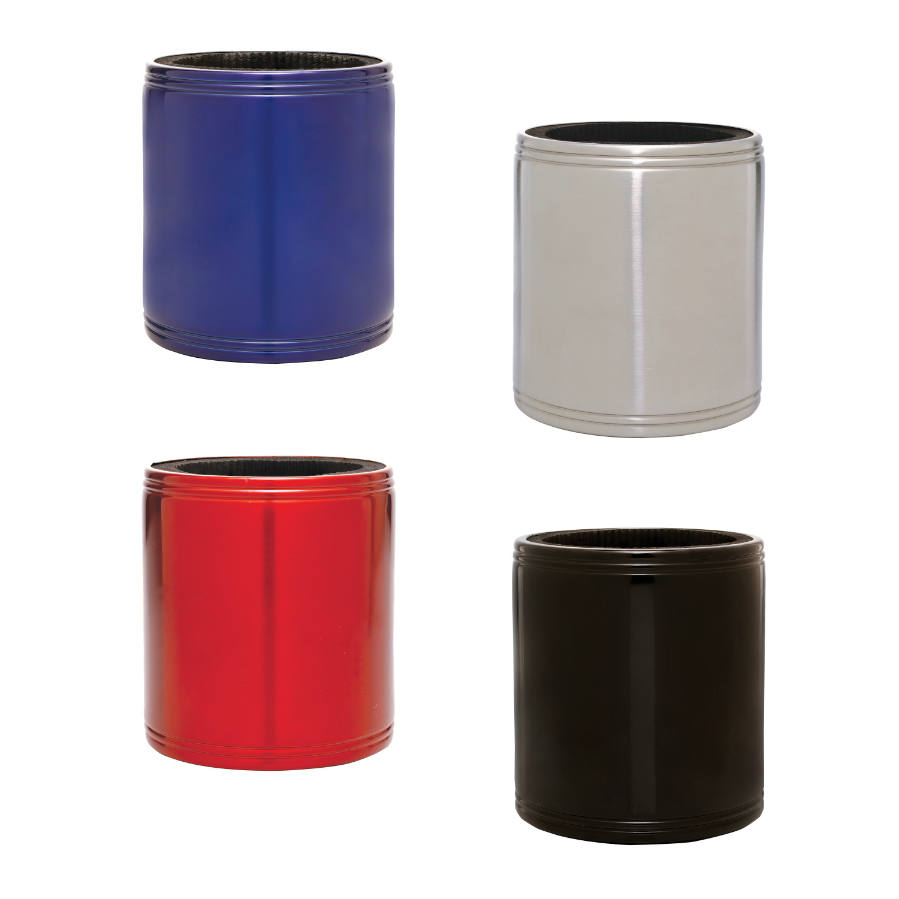 Silver Stainless Steel Insulated Beverage Holder