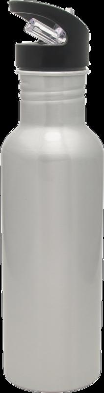 16 oz Hiker Bottle Silver