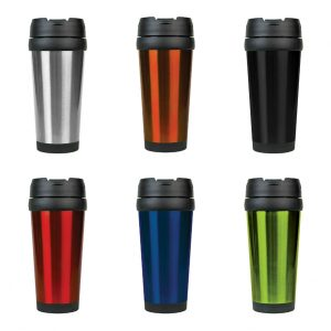 16 oz. Stainless Steel Travel Mug without Handle