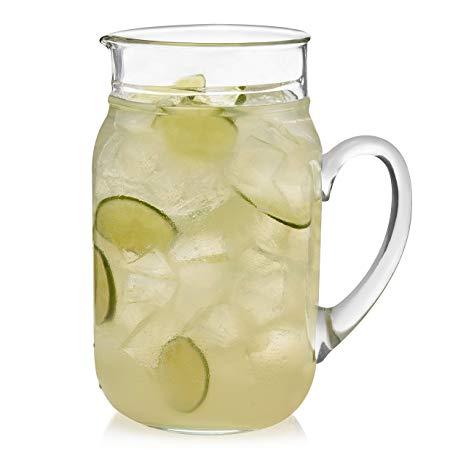Drinking Jar Pitcher