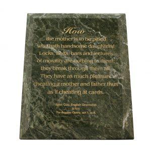 Jade Leaf Green Marble.